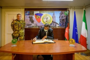 Ambasciatore Pontecorvo visita il TAAC-WEST di Herat
