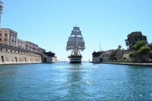 La Regina dei mari rientra a La Spezia