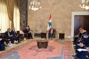 Guerini in visita in Libano
