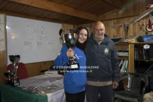 Silvia Ciampelli campionessa di volo di ''Alfina''