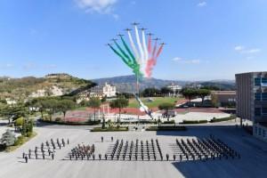 Giuramento di fedeltà alla Patria per il corso ''Aquila VI''