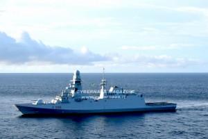 Caccia ai pirati: Fregata Martinengo nel golfo di Guinea