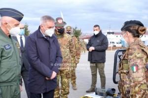 Il ministro Guerini in visita in Kosovo