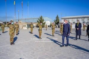 Il ministro della Difesa in Afghanistan