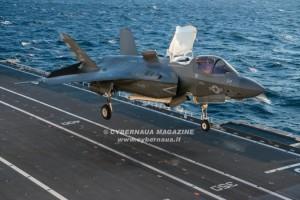Conclusi ''Sea Trials'', la portaerei Cavour può impiegare gli F-35B