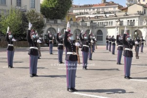 Hanno giurato gli allievi della Scuola Militare ''Teulié''
