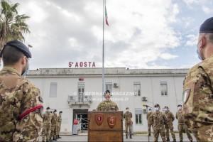 Visita in Sicilia del comandante del COMFOP sud (Comando Forze Operative Sud) dell'Esercito