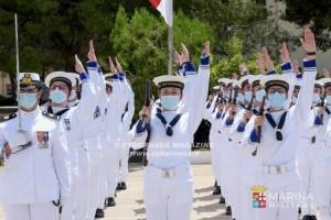 Hanno giurato gli allievi del 22° e del 23° corso normali marescialli Marina Militare