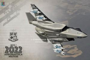 Calendario Aeronautica Militare 2022, l'evoluzione tecnologica